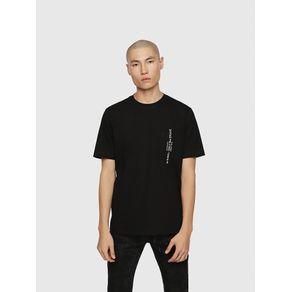 Camiseta Diesel T-Just-Pocket - Preto - P